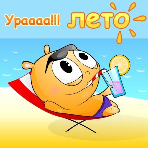 Здравствуй, лето! С первым днём лета