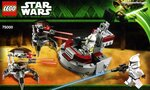 Star Wars 75000 Штурмовики-клоны против Дроидеков схема сборки