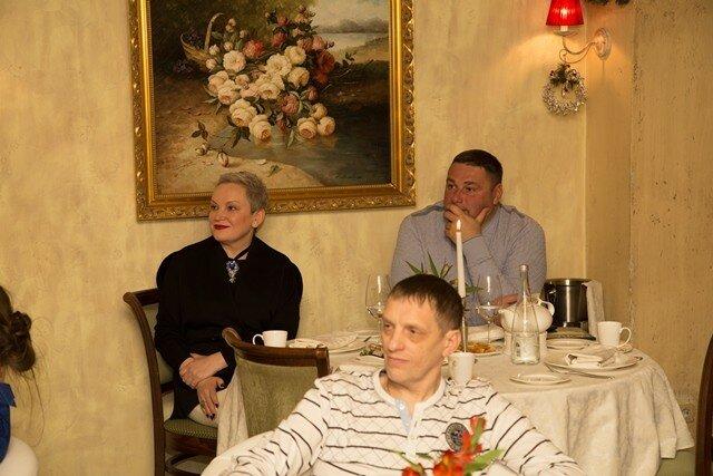 20 января 2017 года по инициативе руководства ресторана «Ривьера» был организован благотворительный вечер «Именины у Тургенева».