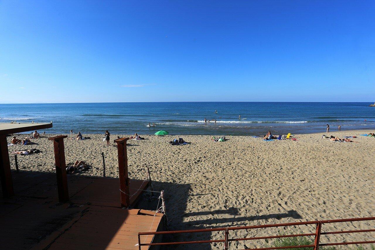 Cefalu. City beach