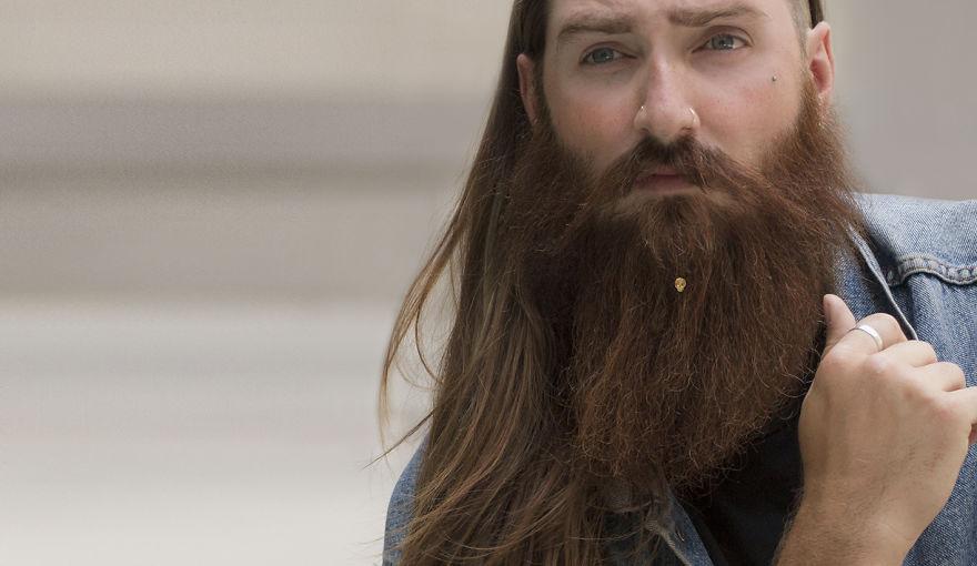 Вот и дождались — первая в мире коллекция украшений для бороды