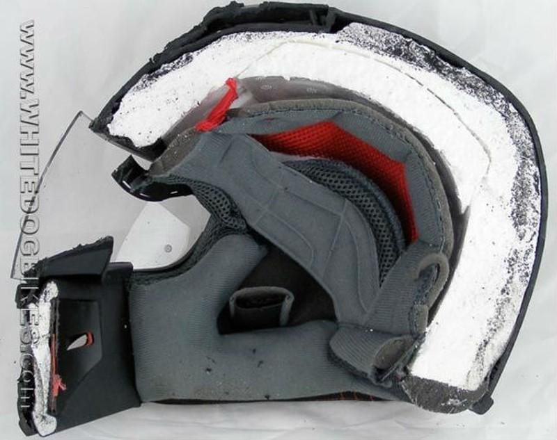 12. Мотоциклетный шлем ( whitedogbikes.com )