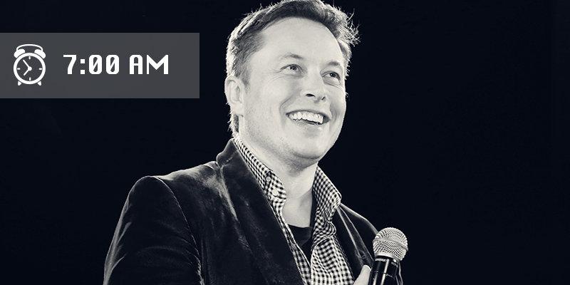 Генеральный директор SpaceX и Тесла известен своими амбициозными программами и невероятной производи