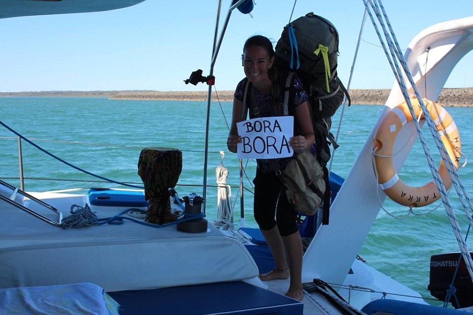 Самый долгий переезд Анны длился семь месяцев — это была дорога из Малайзии в Австралию на лодке. Он