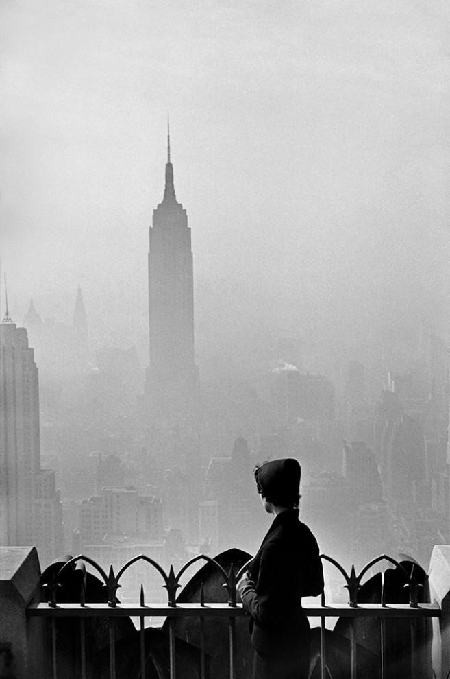 Офис Magnum Photos на 64-й улице, 1953 год.