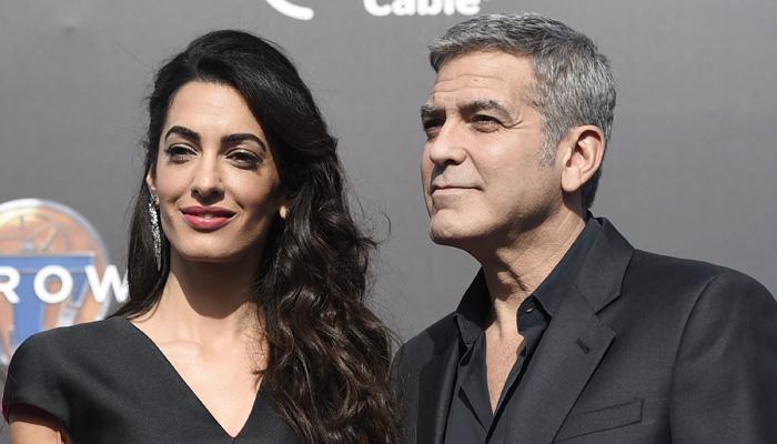 Мед. сотрудники напугали иосчастливили Джорджа Клуни иего супругу