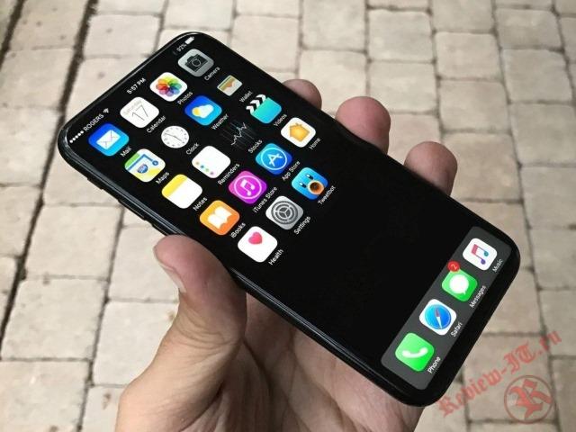 Вглобальной сети появились первые фотографии нового iPhone 8