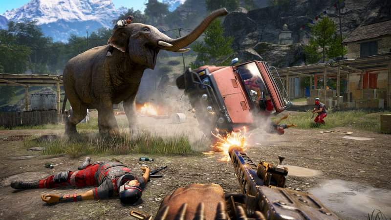 Официальные тизеры Far Cry 5 появились винтернете