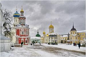 Зимний день в Троице-Сергиевой лавре