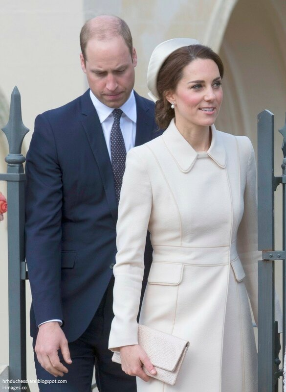 William and Kate easter