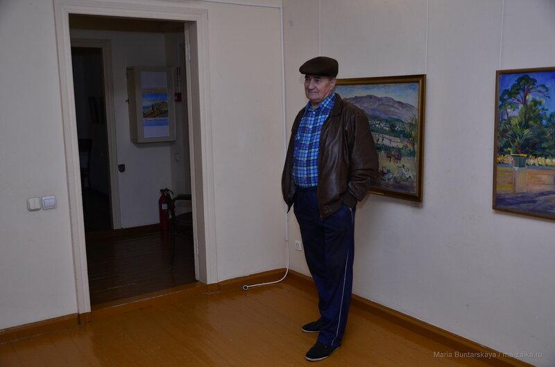 В доме Павла Кузнецова, Саратов, 04 ноября 2016 года
