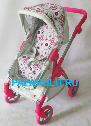 Коляска для кукол с регулируемой ручкой Melobo 9620