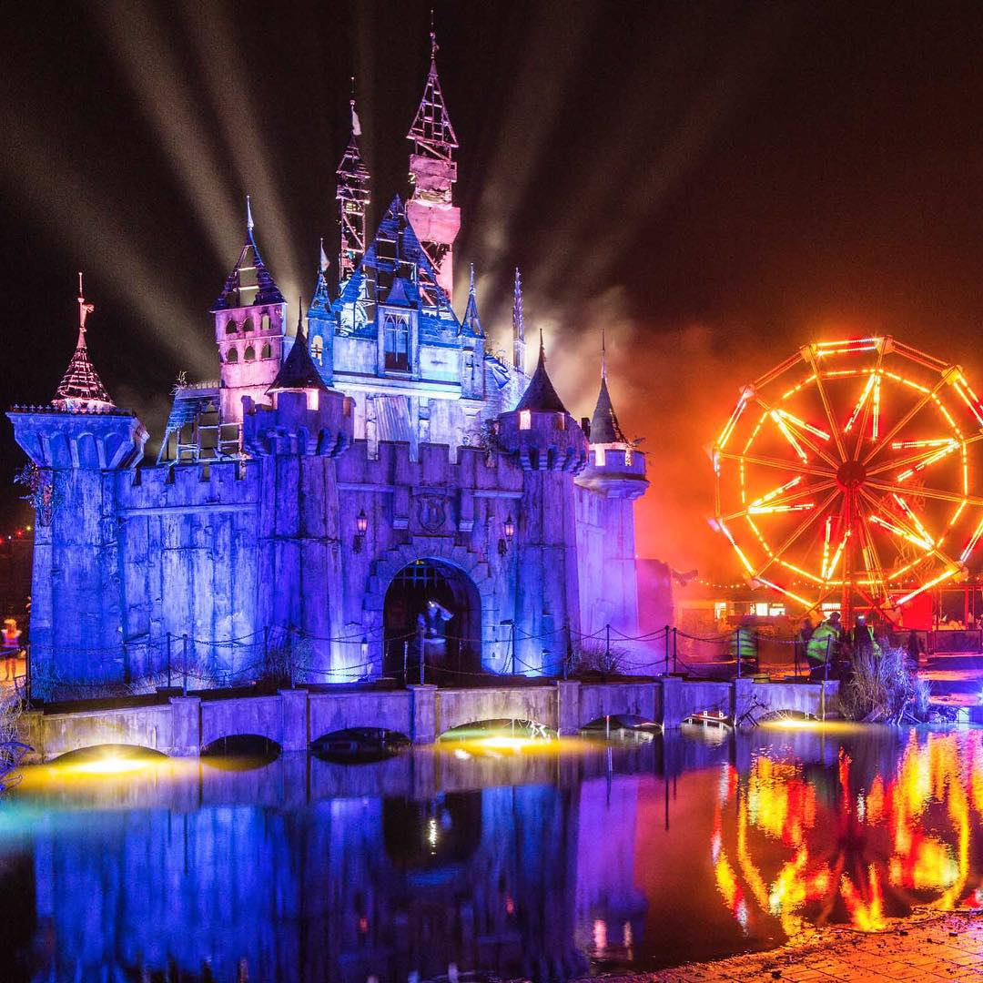 Dismaland is open to the public from August 22 through September 27th, 2015 and information about pr