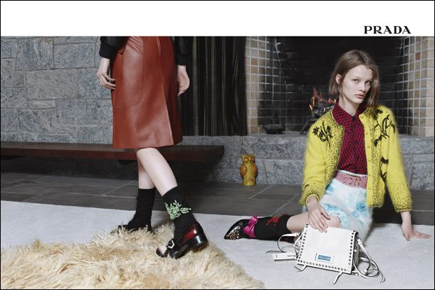 PRADA Encounters Campaign by Willy Vanderperre (5 pics)