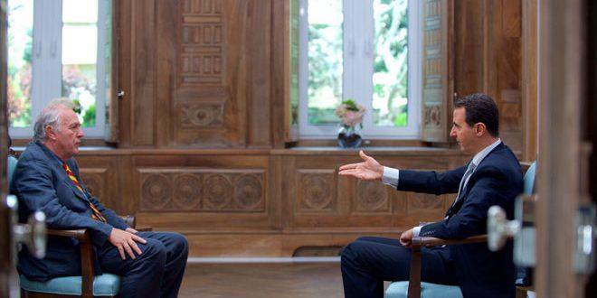 "Интервью Башара Ассада ""Agence France-Presse"""