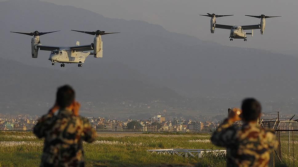 Bell V-22 Osprey — единственный серийный конвертоплан в мире