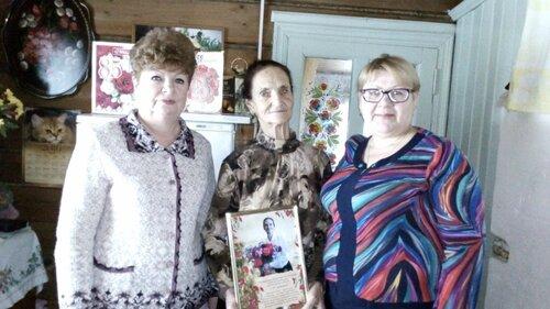 85 лет  Пастуховой Татьяне Алексеевне