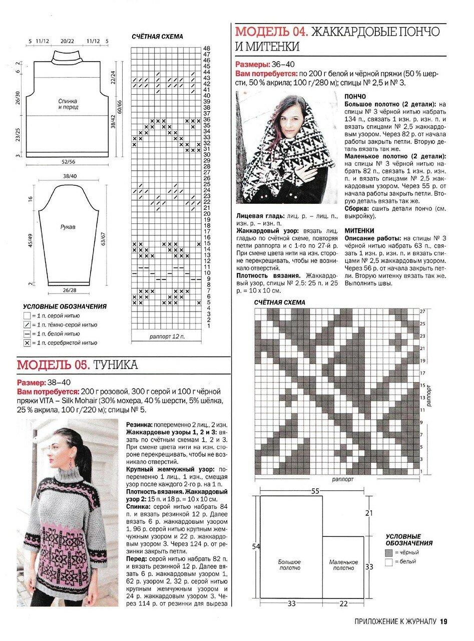 俄网棒针编织(264) - 柳芯飘雪 - 柳芯飘雪的博客