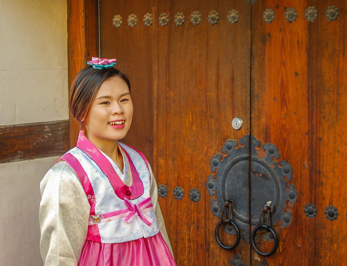 Кореянка
