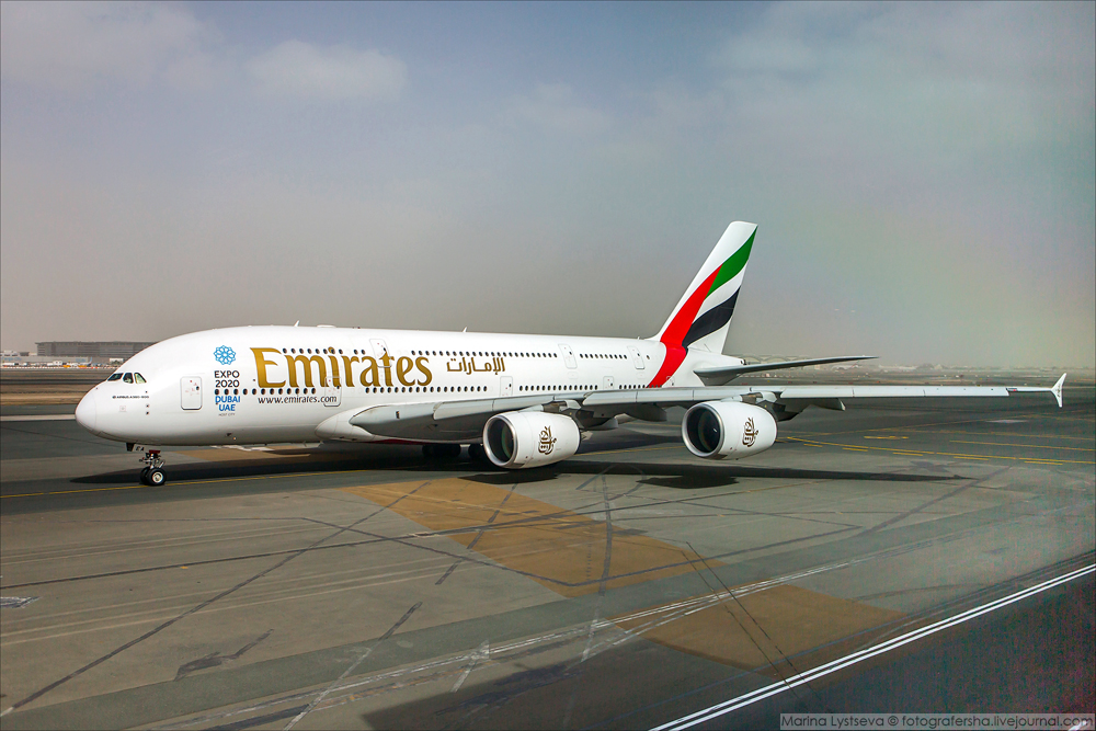 Как увидеть 20 одинаковых А380 за час не сходя с места