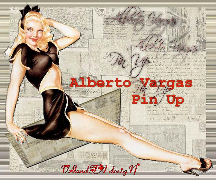 коллаж Alberto Vargas Pin Up.jpg