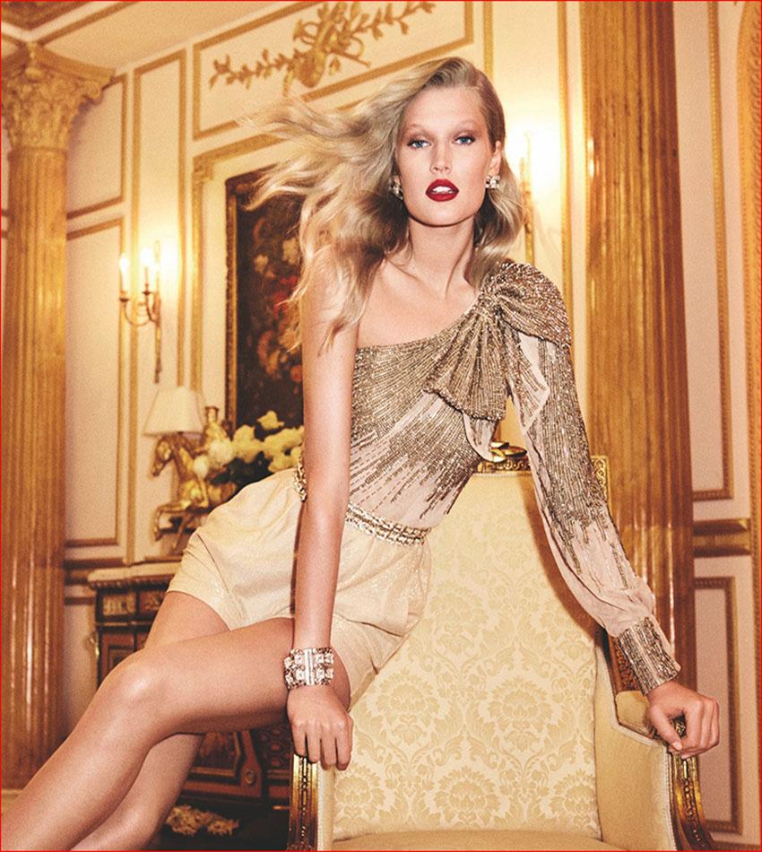 Toni Garrn - Elisabetta Franchi Spring/Summer 2017 Ad Campaign
