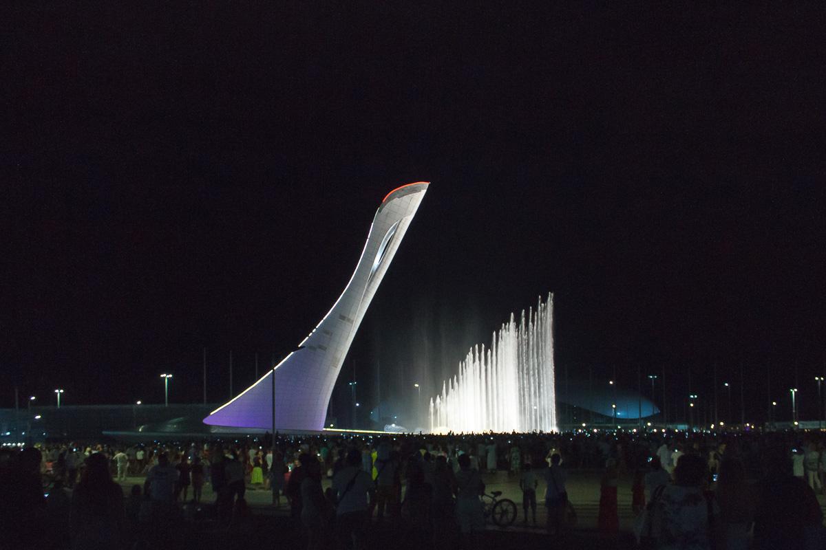 Поющий фонтан, Олимпийский парк, Сочи фото 7