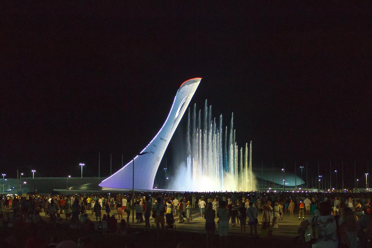 Поющий фонтан, Олимпийский парк, Сочи фото 11