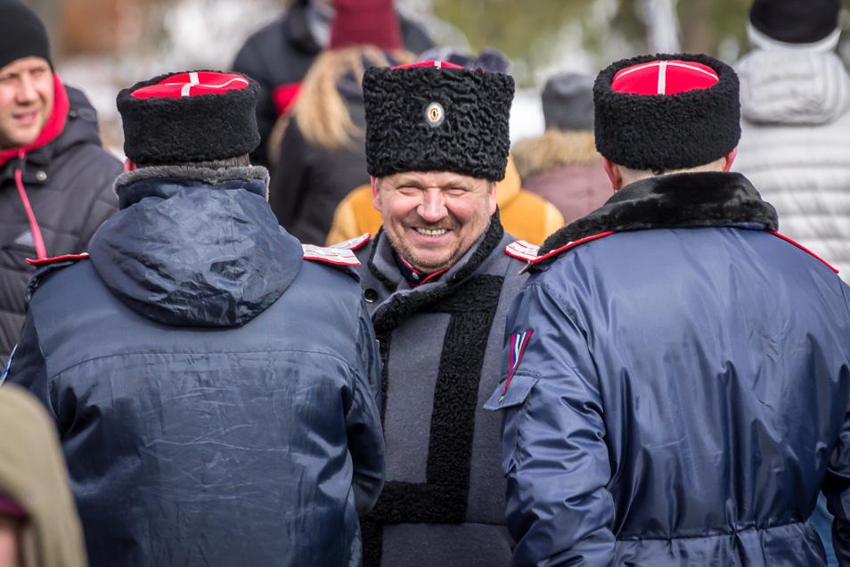 Мордовские казаки в Саранске