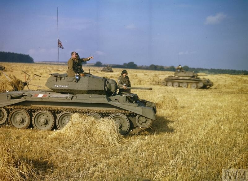 42ND ARMOURED DIVISION EXERCISE, NEAR MALTON IN YORKSHIRE, 29 SEPTEMBER 1942