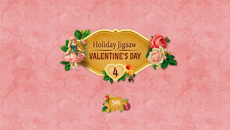 Holiday Jigsaw: Valentines Day 4