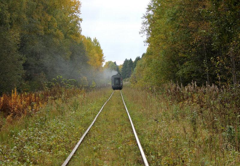 ДМ62-1796 с поездом 6983 Весьегонск — Сонково