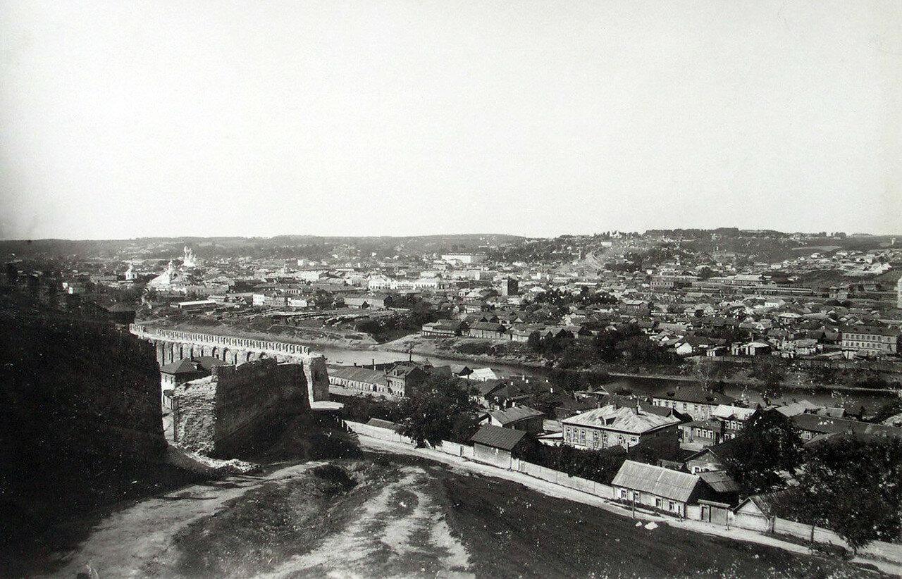Вид с башни Веселуха на Заднепровье. 1901