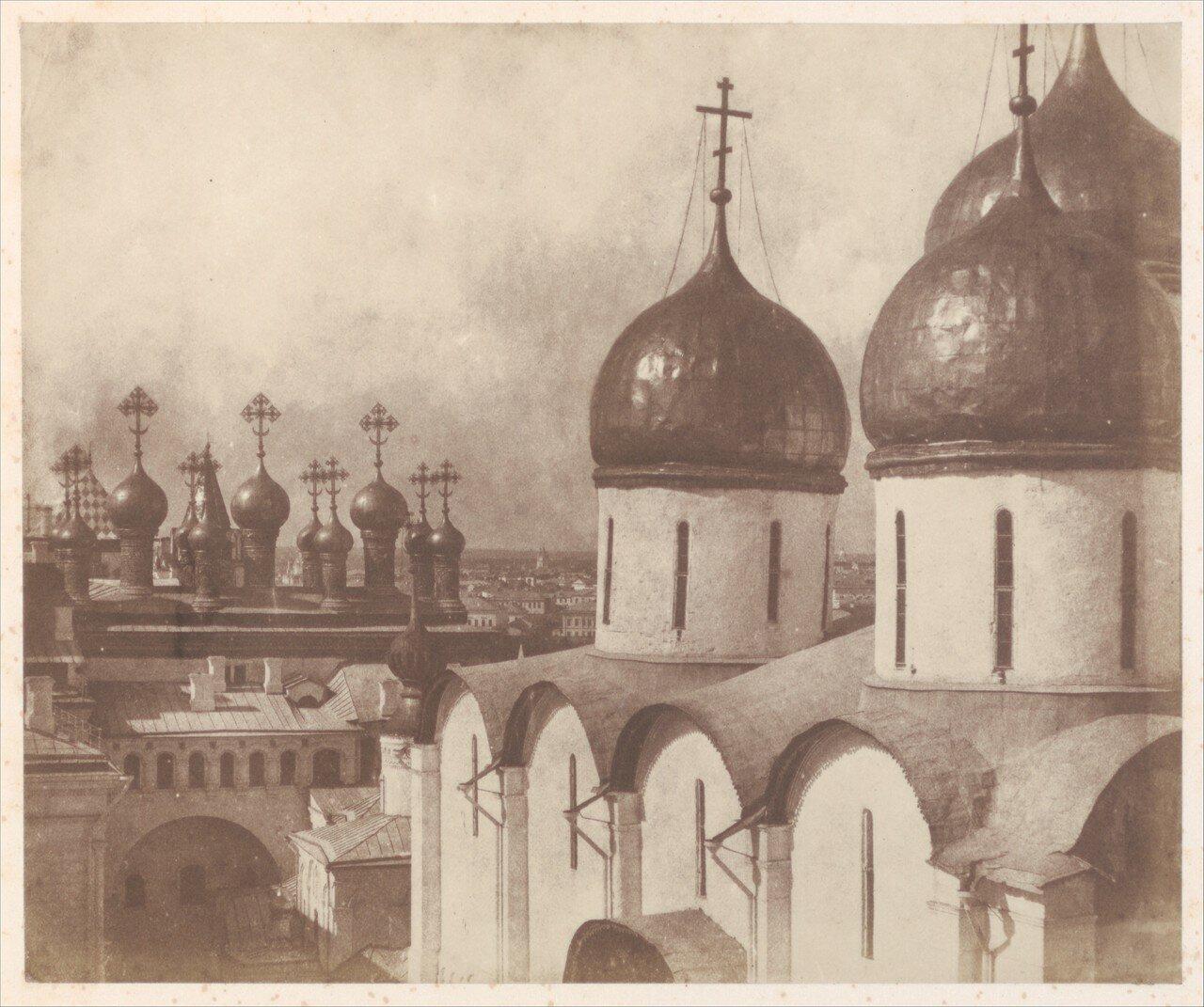 Купола храмов Московского Кремля