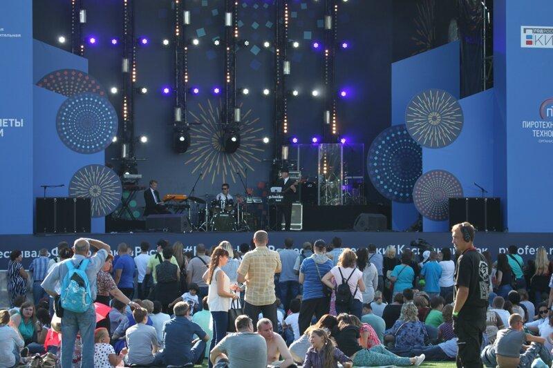 II Международный фестиваль фейерверков Ростех в Братеево