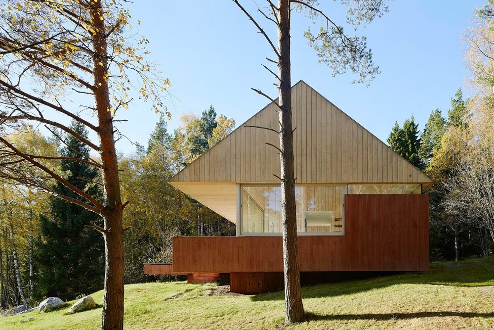 Летний дом для отдыха на природе в Швеции