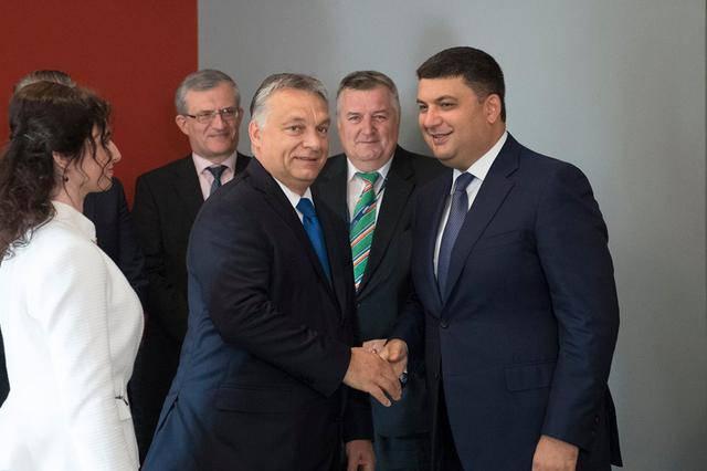 Гройсман обсудил с премьером Венгрии Орбаном борьбу с контрабандой и взаимодействие в сфере энергетики. ФОТО