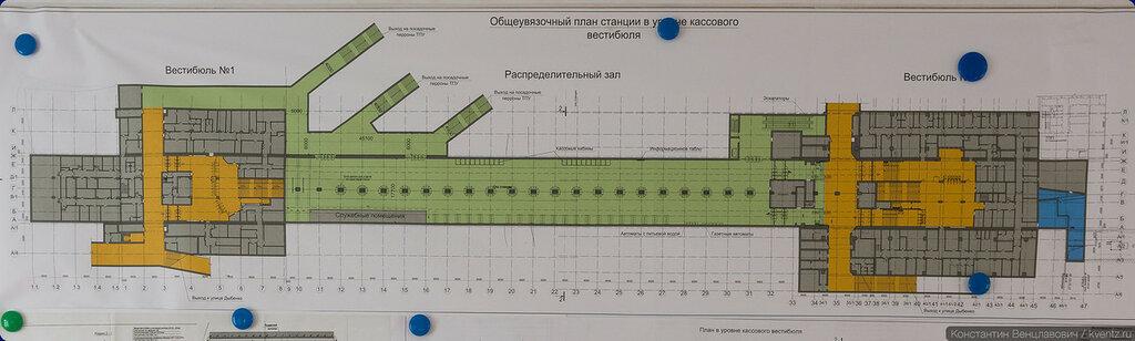 План станции
