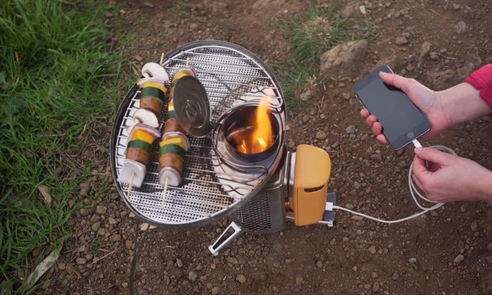 Туристическая печка - зарядка