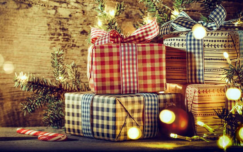 Новый год, новогодние подарки, картинки, рабочий стол