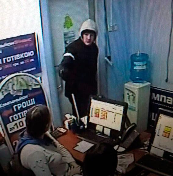 Ограбление вХарькове: милиция  ввела вдействие план «Спираль»