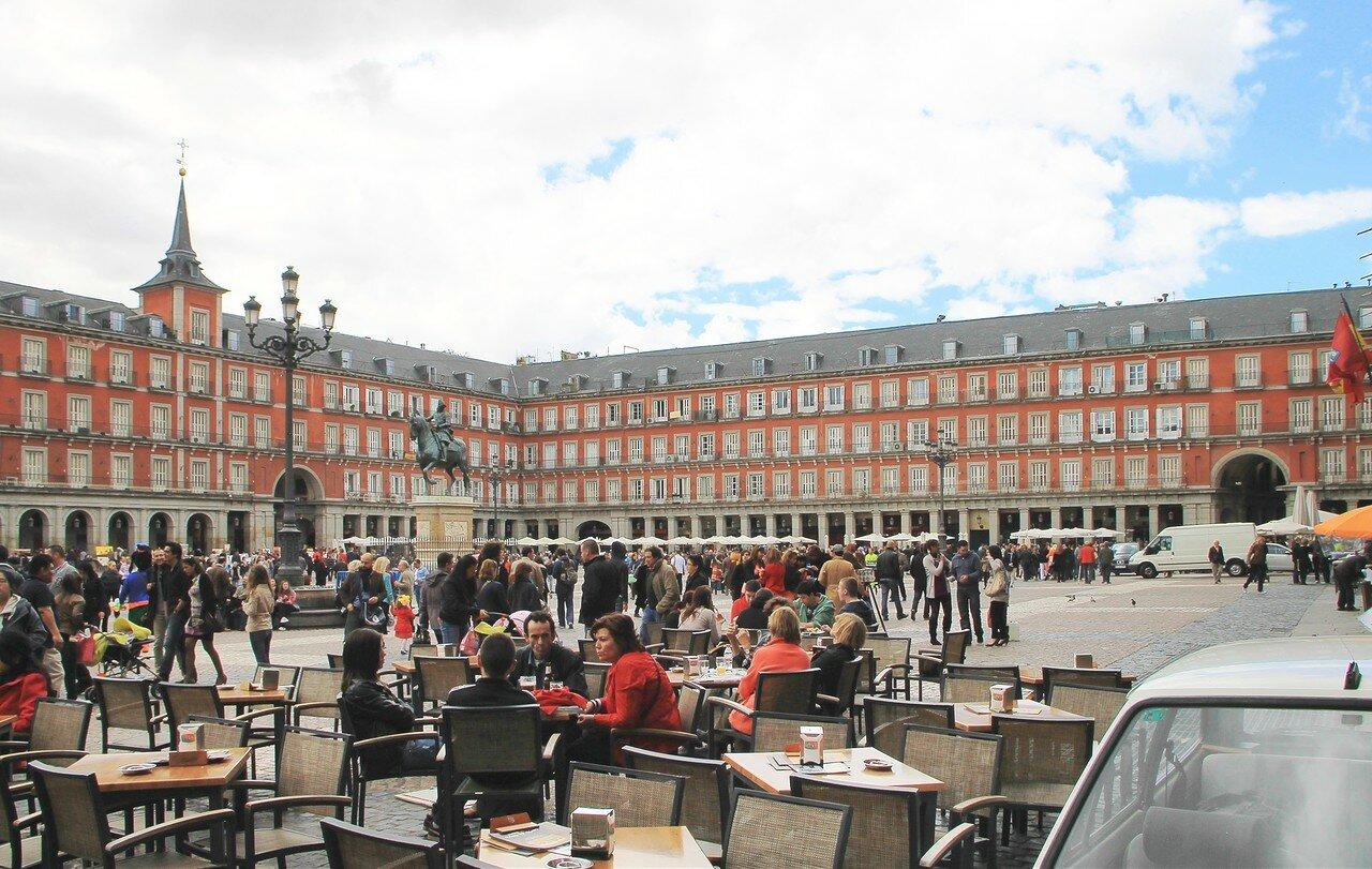 Мадрид. Главная площадь (Plaza Mayor)