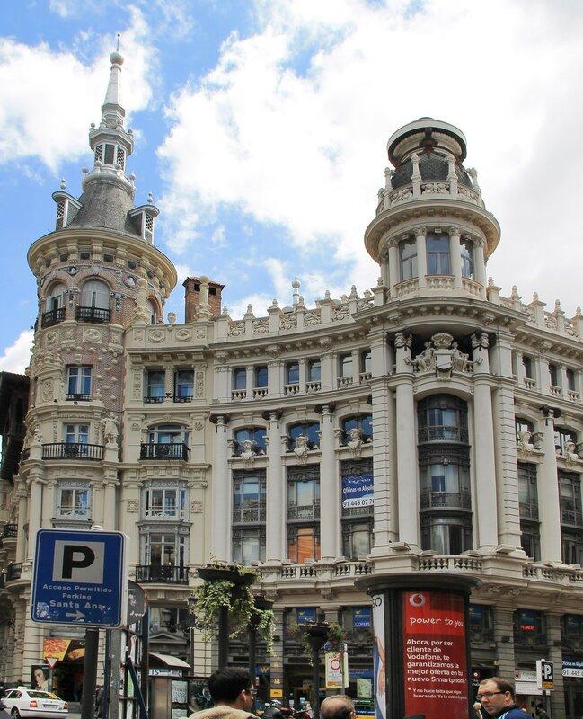 Мадрид. Дом Менесеса (Edificio Meneses)