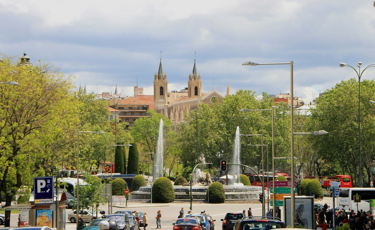 Мадрид. Площадь Кановаса дель Кастильо (Plaza de Cánovas del Castillo)
