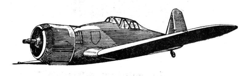 Силуэты итальянских самолетов (1939) 006