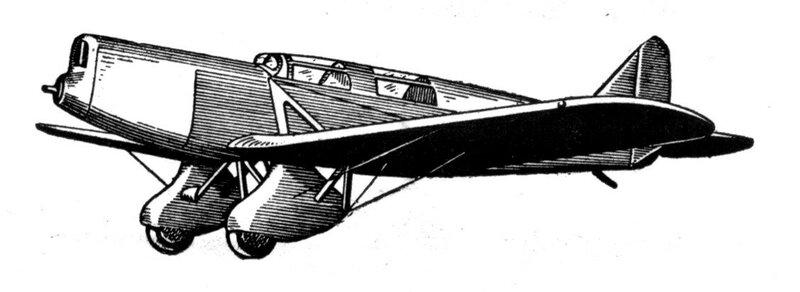 Силуэты итальянских самолетов (1939) 048