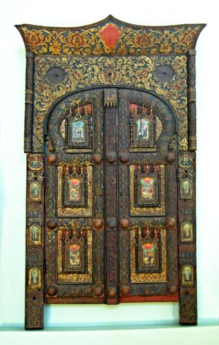 Царские врата(с.Сия, 17 век) в Пермской худ. галерее