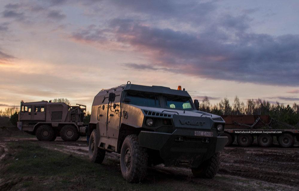 Легкий бронированный автомобиль «V-1»  МЗКТ-490100