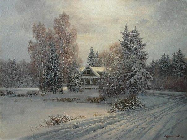 Таинственный свет солнца на картинах художника Дмитрия Колпашникова
