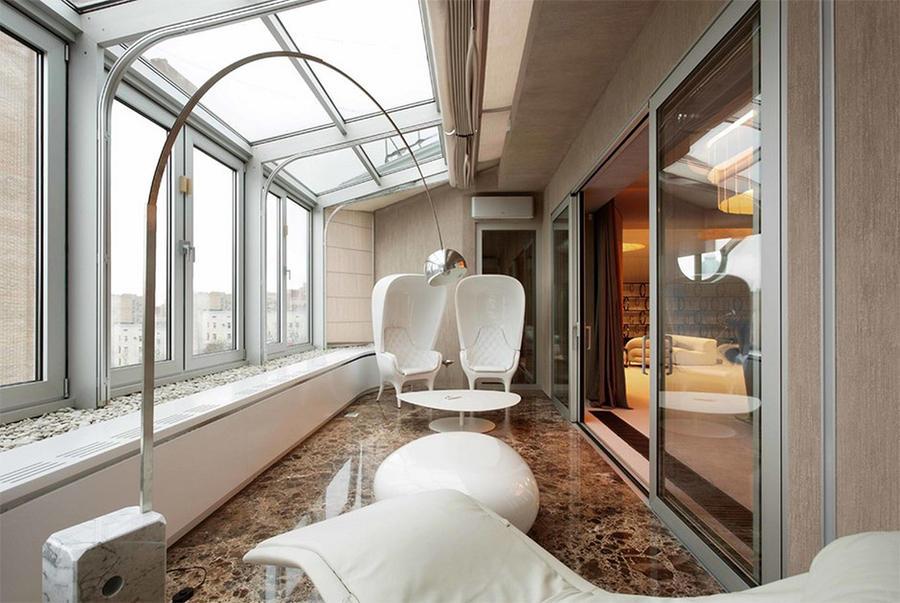 1. Франция Обычное жилье в Иль-де-Франс с видом на Сену художнице-керамисту удалось превратить в вел